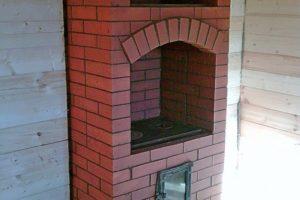 Классическая печь - шведка с плитой